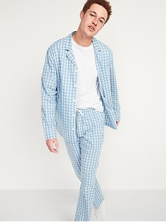 Poplin Pajama Set for Men