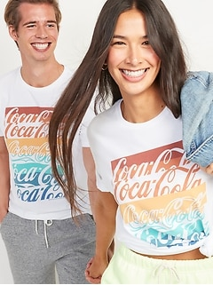 Coca-Cola® Gender-Neutral Graphic Tee for Adults