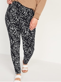 High-Waisted Pixie Full-Length Camo Pants for Women