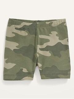 Jersey Biker Shorts for Toddler Girls