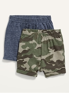 2-Pack U-Shaped Jersey Shorts for Baby