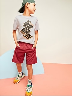 Go-Dry Short-Sleeve Graphic T-Shirt For Boys