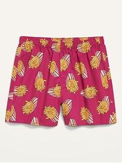 Soft-Washed Printer Boxer Shorts for Men