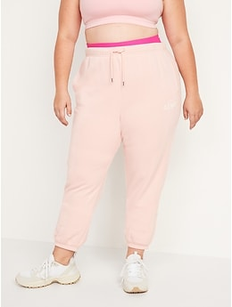 Extra High-Waisted Logo-Graphic Sweatpants for Women