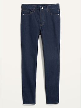 Extra High-Waisted Pop Icon Skinny Button-Fly Jeans for Women